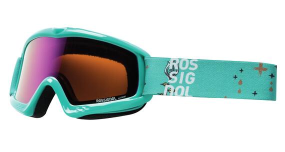 Rossignol Raffish goggles Kinderen turquoise
